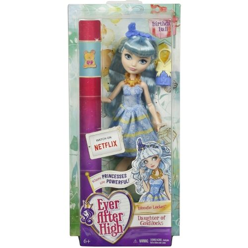 Ever After High Blondie Lockes Doğum Günü Bebekleri